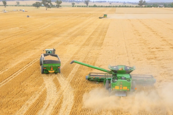 Hutcheon and Pearce Harvester TVC Edit