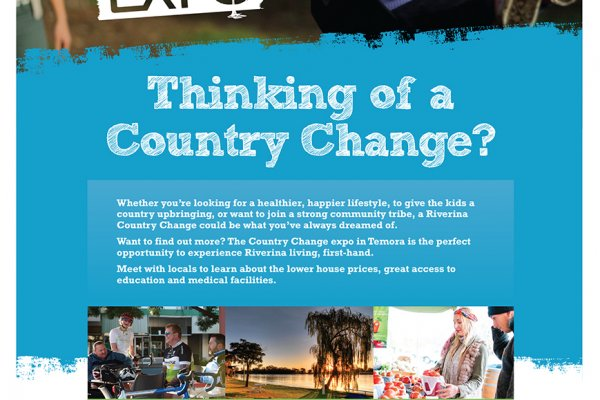 country change expo poster